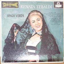 RENATA TEBALDI SINGS VERDI-M1959LP
