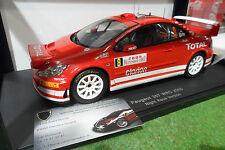 PEUGEOT 307 WRC NIGHT RACE RALLYE MONTE CARLO 2005 # 8 MARTIN 1/18 AUTOart 80555