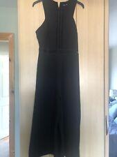 Ladies New Look Black Jumpsuit Size 10