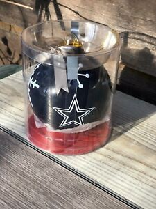 "NFL-Dallas Cowboys 4"" Glass Ball Logo Tailgate Ornament-Go Cowboys Nation!"