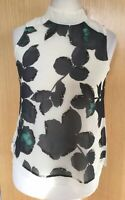 Next Blouse Top 12 Floral Summer Beaded Holiday Smart Evening Petite New £26