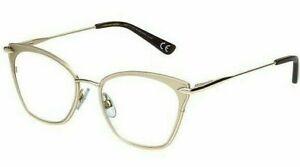 +2.75 Foster Grant Modera Skylar Gold Metal Cat Eye Reading Glasses MSRP:$30