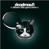 Deadmau5 - >Album Title Goes Here< 3D Cover Digipak Release CD