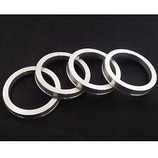 4 Aluminium Spigot Rings 57.1mm - 67.1mm VW AUDI SEAT