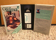 GIFT OF HERITAGE genealogy research VHS creating family-tree instructional media
