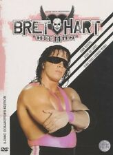 WWE Bret Hart Best there is, was and ever will be 3 DVDs Orig WWF Wrestling
