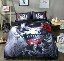 Tattoo Sourpuss Style Duvet Set Full Bedding Pinup Tattoo Pillow Case Comforter