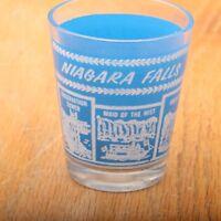 Niagara Falls Souvenir Shot Glass Maid of the Mist American Falls Rocks of Ages