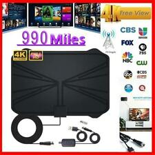 990 Miles TV Aerial Amplified HD Digital HDTV Antenna with Adjust Signal Booter