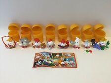 KINDERINO SPORT 3 Kinder Surprise Limited Edition Set & 8 BPZ RARE 2016 Holland