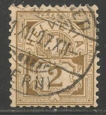 Switzerland #113 (A19) FVF USED - 1905 2c Numeral of Value