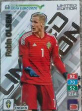ROAD TO EURO 2020 PANINI ADRENALYN XL LIMITED NORDIC SWEDEN OLSEN