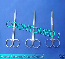 "3 Stevens Tenotomy Scissors 4.5"" CVD Surgical Instrument"