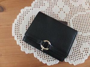 Damen Geldbörse, Portemonnaie, Aigner, schwarz, neuwertig