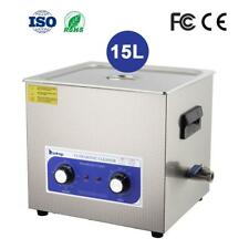 15l Dental Jewelry Stainless Ultrasonic Cleaner Heater Timer