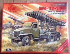 ICM 1/35 BM-13-16N WWII Soviet rocket launcher plastic model kit new 35512