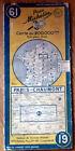 Carte MICHELIN N° 61 - Paris - Chaumont 1952