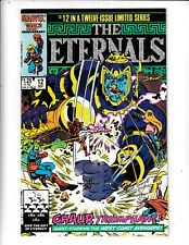 THE ETERNALS #12 IN A TWELVE ISSUE LIMITED SERIES  VF/FN  MARVEL COMICS