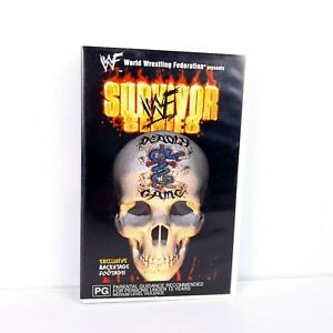 WWF Survivor Series 1998 - VHS Video - FREE POST