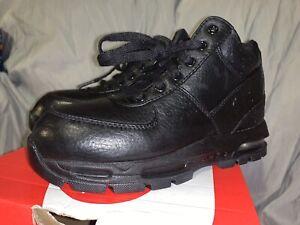 Nike Air Max Goadome PS Boys Size 2y ACG Black Boots 311568 001 New