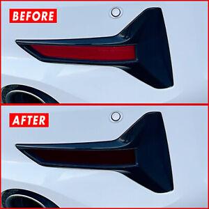 FOR 19-21 BMW 3 Series G20 Rear Reflector SMOKE Precut Vinyl Tint Overlays