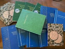 Lot of 15 WHITMAN & MIX COIN ALBUMS - NO COINS - SEE PICS - FREE SHIPPING