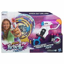 Nerf Rebelle Knock Out Gallery Target Set A5612 Hasbro