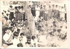 INDIA -  RARE - 5  PHOTOGRAPHS - OF SOCIAL GATHERING IN THE HISTORICAL PALACE