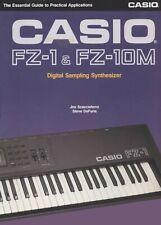 Casio FZ20 Manual, Casio FZ1  & FZ10  Book & Cheetah Keyboard Manual (PDF Copy)