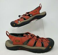 Keen Newport H2 Red Sport  Waterproof Outdoor Hiking Sandals Mens Size 10