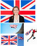 5'x3'✔ British Union Jack Great Britain United Kingdom UK Team Flag Banner