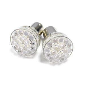 2x Daewoo Lanos Ultra Bright White 24-LED Reverse Light Lamp High Power Bulbs