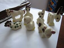 Collectible Japan?,occupied Japan? animal figurines,ceramic-set of 7 CUTE!