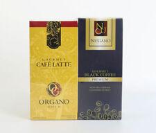 Nugano Natural Signature Premium Blend Of Coffee + Organo Gold Gourmet Latte