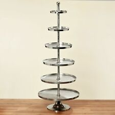 HUGE Cakestand 200cm height Nickel Plated 79cm Wide Silver 30 kg pastry shell NEW