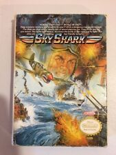 Sky Shark - Nintendo NES - Complete in Box with Instructions, Styrofoam