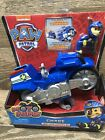 Paw Patrol Moto Pups CHASE Deluxe Motorcycle Pull Back Pop a Wheelie Figure NEW!