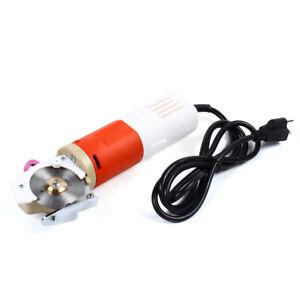 Electric Scissor Round Blade Cloth Cutter 65mm Fabric Cutting Machine Portable