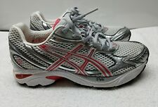 ASICS GT-2150 RUNNING SHOES WOMENS SZ 7.5 STYLE #T055N SILVER CORAL GREY NICE!