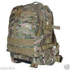 Survival Backpack Genuine Multicam Camo Fox Outdoor Large 3-Day Tactical Molle