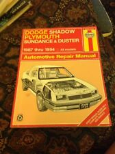 Dodge Shadow Plymouth Sundance & Duster '87-'94 Haynes Repair Manuel