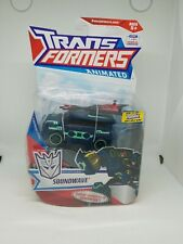 Transformers Animated Decepticon SOUNDWAVE (Deluxe Class)