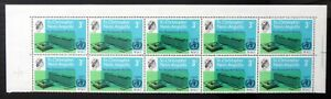 """St KITTS & NEVIS 1966 - 3c W.H.O. """"Apostrophe"""" Variety SG47a SEE BELOW DL861"""