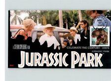 JURASSIC PARK, Dinosaur, Steven Spielberg Film, First Day of Issue, Celebrate th