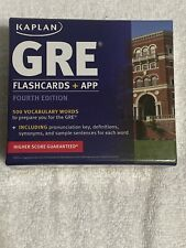 Kaplan Test Prep: GRE® Vocabulary by Kaplan Flash cards And App