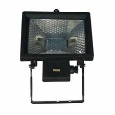 Garden Halogen Floodlight Patio 110V 240V - 300W 400W 500W Security Light Black