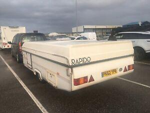 Rapid Orline 39st folding caravan
