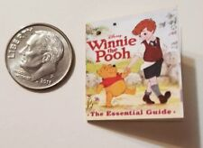 "Miniature Dollhouse Disney Winnie the Pooh Book Barbie 1/12 Scale 1"" Tigger"
