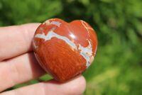 Brecciated Jasper Mineral Puffy Heart US Seller! Free Ship! Lot# GB-18