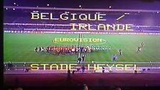 Belgium 1-0 Republic of Ireland 25-03-1981, WCQ 1982, Ceulenmans, Brady, on DVD